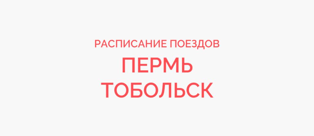 Поезд Пермь - Тобольск
