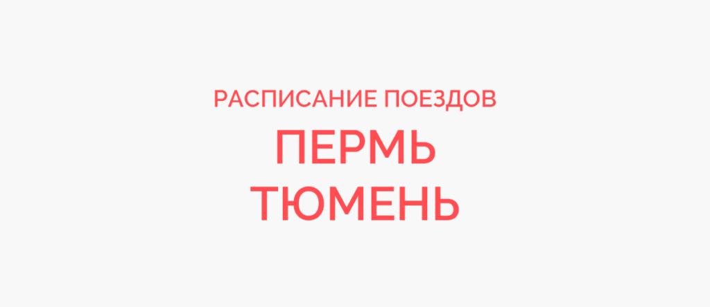 Поезд Пермь - Тюмень