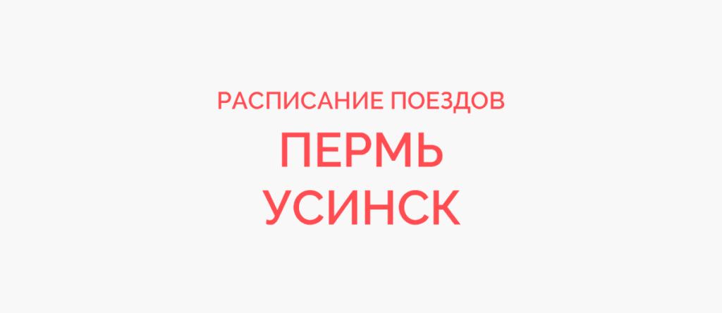 Поезд Пермь - Усинск